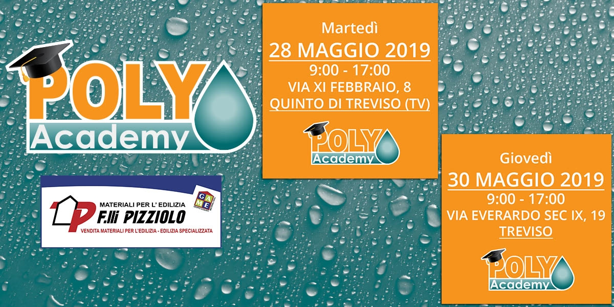 Poly Academy - 28/30 Maggio 2019