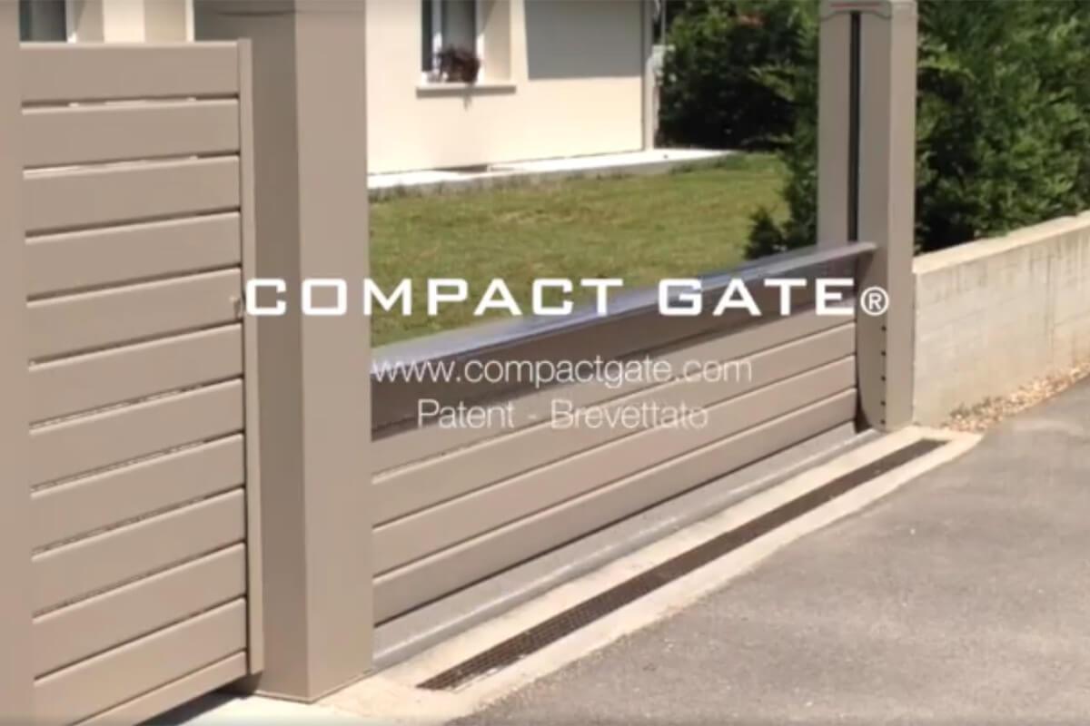 Cancelli a scomparsa compact gate for Montaggio velux costo